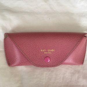 Kate Spade Eyeglasses Case Dusty Rose/Pink Color